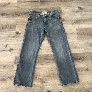 Wrangler Authentics blue jeans 34w 32L